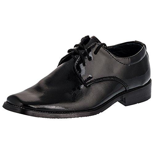 Solennelle été pour garçon chaussures, 3 modèles - #714 Schwarz
