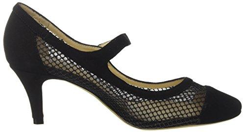Cinti Damen C28-10 Schuhe mit Riemchen Schwarz