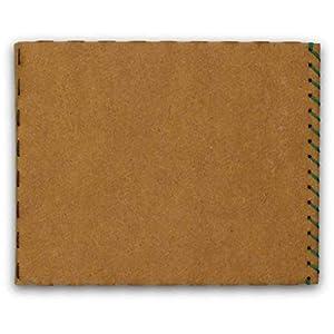 Geldbörse, Geldbeutel, Portemonnaie, Kartenhüllen - aus Pappe, dünn, minimalistisch, vegan, modern - von BERLIN slim - hellbraun