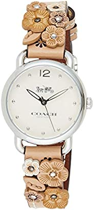 Coach Delancey White Dial Ladies Watch 14502873