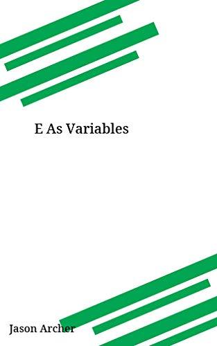 E As Variables (Galician Edition) por Jason Archer