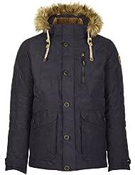 g.i.g.a. DX Hombre pedolo Casual chaqueta, Otoño-invierno, hombre, color azul oscuro, tamaño 3XL