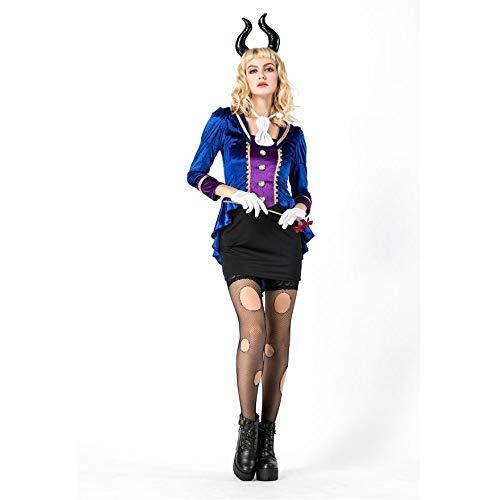 Olydmsky Costumi da Donna di HalloweenCostume di Halloween Bestia Bellezza con Cosplay Bestia Costume Costume da Vampiro