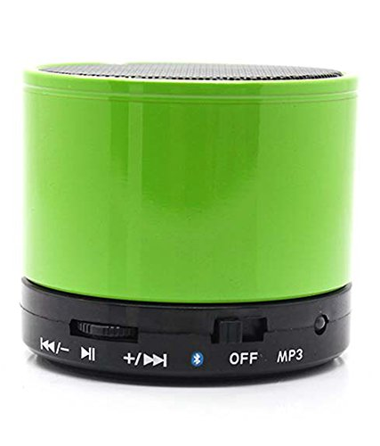 JYARA Most awaited Speaker with feature of Feet Taping Music sound   Rechargeable Battery Bluetooth Speaker LED Wireless Bluetooth Speaker handsfree Calling Feature FM Radio & SD Card Slot , S10 GREEN Compatible with AOC M601  available at amazon for Rs.499