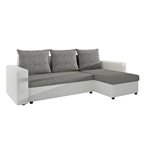 Ecksofa Top Lux! Sofa Eckcouch Couch! mit Schlaffunktion und zwei Bettkasten! Otto...