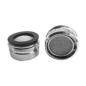 évier lavabo buse de filtre robinet d'aérateur (24mm extérieur)
