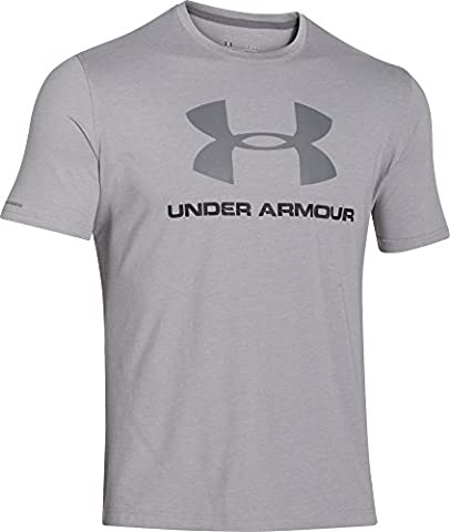 Under Armour Herren T-Shirt Sportstyle, grau (true grey heather), XL,