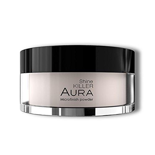 Poudre libre translucide Matifiante Shine Killer HD Tenue 8 heures Par Aura Cosmétique Maquillage professionnel