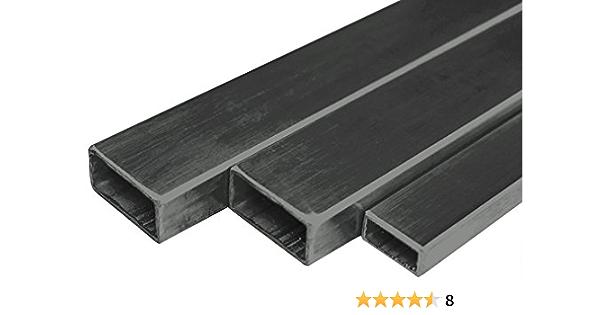 Rechteckrohr Stahlrohr Vierkantrohr EN 10305-5 L= 500-2000mm E235-40x20x2mm 2000mm