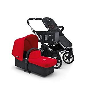 Bugaboo Donkey Tailored Canvas in Red   8