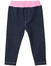 Vaqueros para Niñas Bebés Infante Jeans Pantalones largos para 1-6 Años