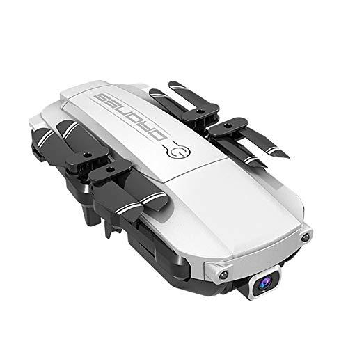 Fpv 4K Drohne, Chshe TM, Lansenxi-Nvo 2.4G Wifi Fpv 4K Weitwinkel Faltbarer Rc Drone Quadcopter Fernhubschrauber (3.7V 650Mah Batterie)(Silber) - Abd-batterie