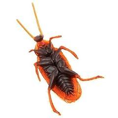 Idea Regalo - Dcolor 10 falsi insetti Blatte novita' Scarafaggio sembra reale Scherzo