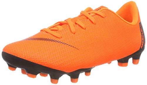 Nike Unisex-Kinder Mercurial Vapor XII Academy MG Fußballschuhe, Orange/Schwarz, 28.5 EU