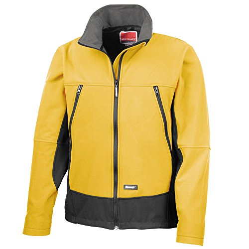Result Herren Jacke Sport Yellow/Black