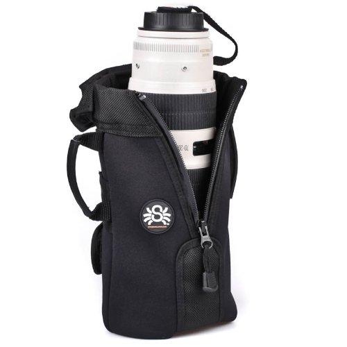Spider Objektivköcher SpiderPro Large Lens Pouch inkl. Spider Monkey Zubehörhalter für...