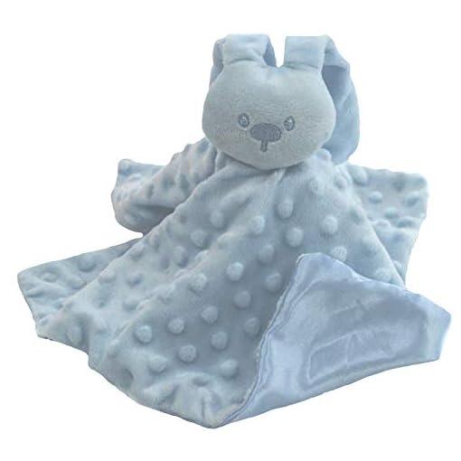Tillfield-Soft-Touch-Baby-Bunny-BubblePopcorn-ComforterSecurity-Blanket