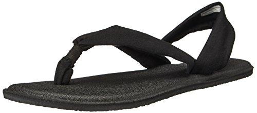 Sanuk Women's Yoga Triangle Dress Sandal Black