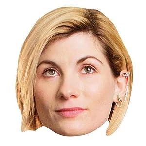 Star Cutouts SM292 - Máscara de cartulina oficial de Jodie Whittaker (13º Doctor Who, multicolor)