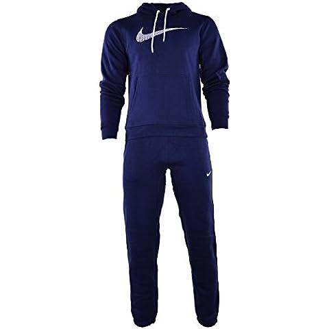 Nike Negro De Hombre 679387 Chándal Completo - Azul Marino, Medium