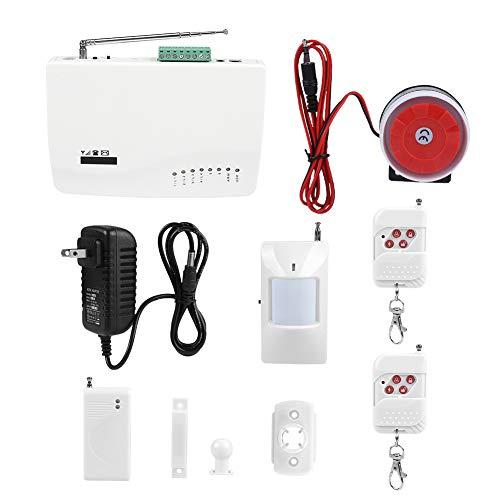 Wireless APP Control Sicherheitsalarm GSM SMS Home Diebstahlsicherung Brennt Alarm Kits Bewegungserkennung Auto Dialer(Uns) -