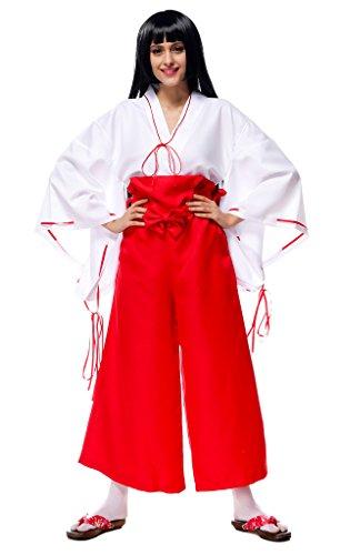 Bigood Halloween Déguisement Adulte Costume Sorcière Cosplay Veste Pantalon Mascarade Multicolore