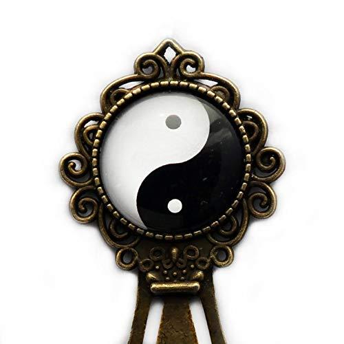 Go Forward Segnalibri Appassionati di Lettura, segnalibro Yin Yang, Regali per Gli Amanti della Lettura