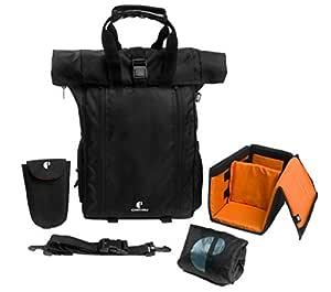 CarryPro 30 Ltrs 46 cm Laptop Backpack (ltpdesigns03_Black)