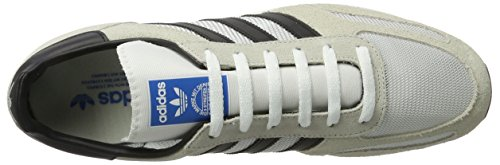 adidas La Trainer OG, Chaussons DIntérieur Homme Blanc (Vintage White/core Black/clear Brown)
