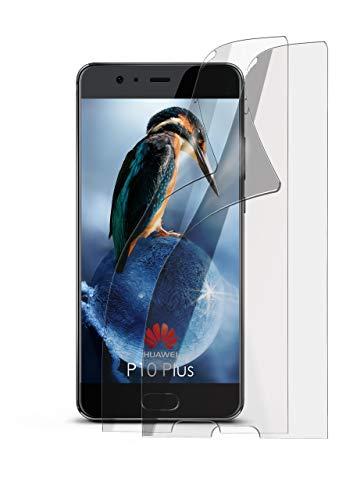 2X Huawei P10 Plus | Schutzfolie Matt Bildschirm Schutz [Anti-Reflex] Screen Protector Fingerprint Handy-Folie Matte Bildschirmschutz-Folie für Huawei P10 Plus Bildschirmfolie