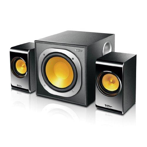EDIFIER P3060 2.1 Lautsprechersystem (30 Watt) mit USB-Anschluss für direkte Audiowiedergabe