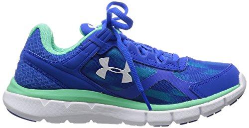Under Armour Ua W Micro G Velocity Rn Gr, Chaussures de Running Compétition Femme Bleu - Blue (Ultra Blue)
