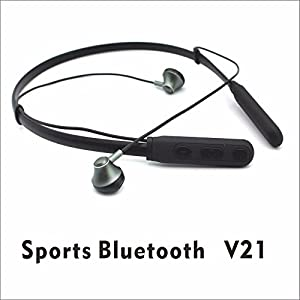 Like Star Wireless Sports In Ear Earphones for Workouts (Black)