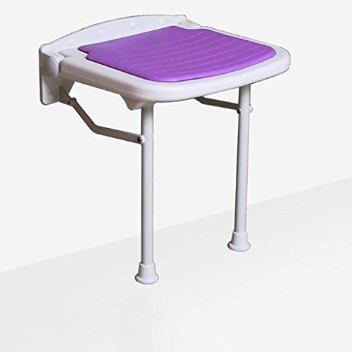 Cqq chaise de bain Tabouret de douche Tabouret de salle de bain Tabouret pliant Chaise pliante Changer tabouret de chaussure ( Color : A )