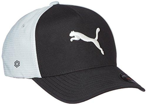 Puma Golf Drycell Flexfit Aménagée Cap-humidité Noir/Quarry - M/L