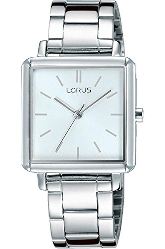 Lorus Womens Analogue Quartz Watch with Stainless Steel Strap RG219NX9