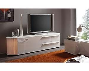 Meuble TV design Lumino 2 Blanc