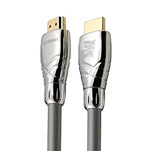 Cablesson Maestro 2m Ultra Advanced High Speed HDMI Cable with Ethernet Latest 2.0 / 1.4a version, 1080p 2160p 4k2k ARC 3D UHD TV XBOX 360 XBOX One PS3 PS4 Deep Color SkyHD Virgin Box Wii U PC Full HD. Removeable Metal Die-cast end connector casing