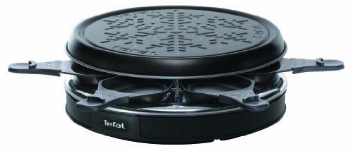Tefal RE1228 Cristal Deco 6 - Máquina de raclette