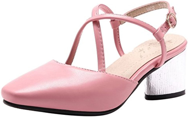 RAZAMAZA Femmes Arriere Mode Bout Ferme Bride Arriere Femmes ChaussuresB07B95MC73Parent 333006