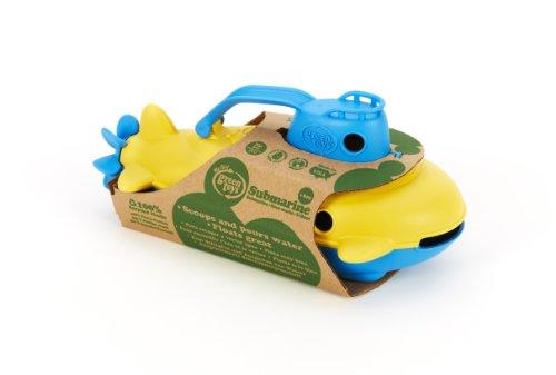Green Toys SUBB-1032 - U-Boot, blauer Turm -