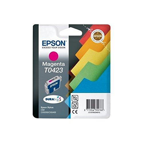 Epson T0423 Cartouche d'encre d'origine 1 x magenta pigmenté 420 pages
