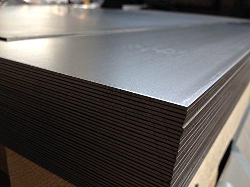 2 Mm x 500 mm x 500 mm en tôle d'acier galvanisée en métal, tôle fine