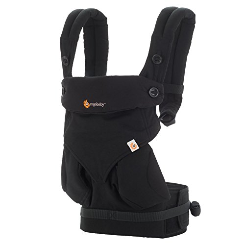 Ergobaby baby carrier collection 360 (5.5 - 15 kg), Pure Black