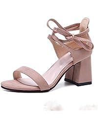 sandali aperti femminile della testa dei pesci selvatici scarpe comfort informale , black , US7.5 / EU38 / UK5.5 / CN38