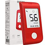 Libertry Kit per test del diabete Glucosio Metro GLS-73 Tester Striscia per test del glucosio nel sangue 50 compresse per diabetici