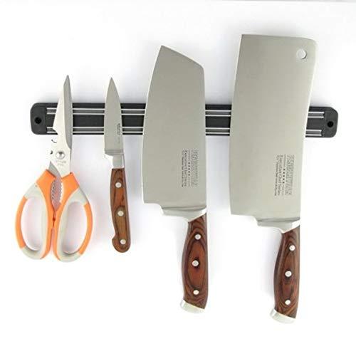 Outletissimo® barra magnetica per coltelli da cucina calamita porta utensili 33cm fissaggio muro