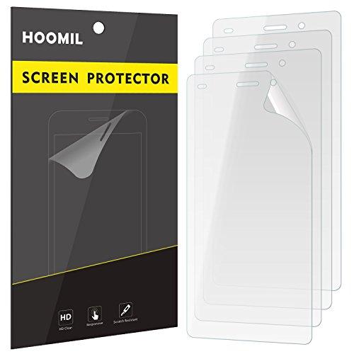HOOMIL Huawei P8 Lite (2015) Schutzfolie [4 Stück] Folie [HD Klar] Bildschirmschutzfolie