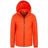 Mountain Warehouse Torrent Wasserfeste Jacke für Kinder - Regenmantel mit versiegelten Nähten, Kinderjacke mit Taschen, Sommermantel - Ideal für Sommerreisen