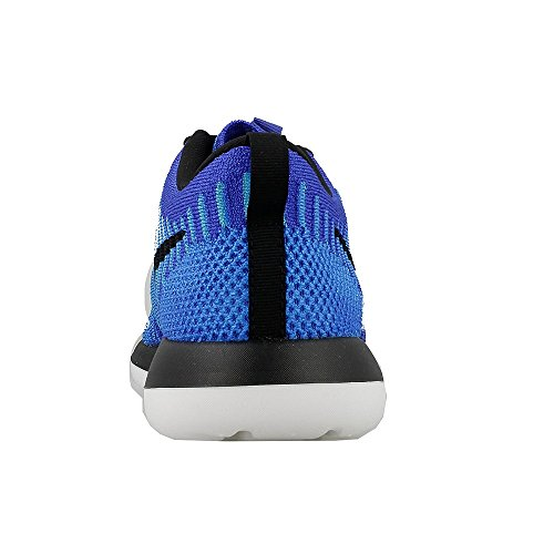 Nike Roshe Two Flyknit (Gs), Chaussures de Running Entrainement Homme Azul (Azul (racer blue/black-photo blue-blue lagoon))